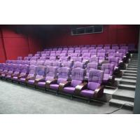 Comfortable 3D theater seating furniture / 4D movie theater seats for auditorium