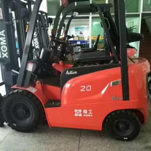 China Electric AC Motor Battery Powered Forklift 2 Ton Capacity Safety Design on sale