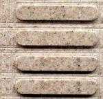 Pedra cega do granito