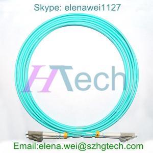 China 1 Meter Fiber, 9/125 Singlemode Duplex, LC/LC Fiber Optic Patch Cable on sale