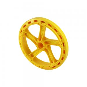 China Custom PVC Plastic Injection Parts , Plastic Moulding Parts For Toy Car Wheel on sale
