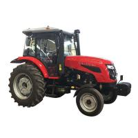 Multi - Purpose Agriculture Farm Machinery LUTONG LYH400 4WD 490BT / Mini Farm Tractor