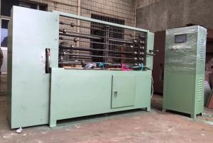 China Automatic Gabion Box Machine 6 bars Spiral Coiling Machine 1.5kw on sale