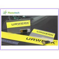 China クレジット カード USB のフラッシュ ドライブ、名刺 USB のフラッシュ・メモリ、USB のクレジット カードの記憶装置 on sale