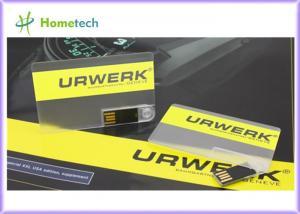 China Movimentação do flash de USB do cartão de crédito, memória Flash de USB do cartão, dispositivo de armazenamento do cartão do crédito de USB on sale