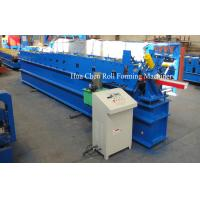 Panasonic PLC Control Water Gutter Roll Forming Machine For sale
