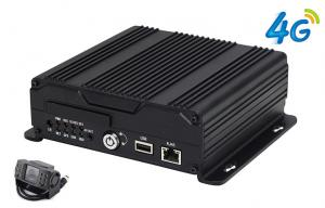 China 3G/4G 1080P 720P AHD Mobile SD Card DVR Recorder H.264 Vehicle Blackbox MDVR on sale