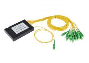 China SM G.657A1 Fiber Optic Splitter 1 X 16 1260um-1650nm Operating Wavelength on sale