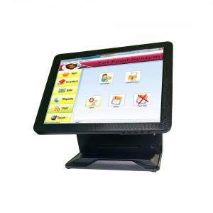 China Pure Flat All In One POS Terminal Tablet Cash Register System Fast Heat Dissipation on sale