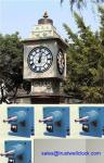 clocks tower movement 2.4m 2.5, 3m diameters two 2 or three 3 faces, -Good Clock (Yantai)Trust-Well Co