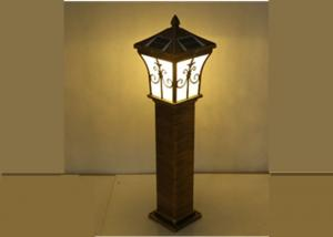 China Aluminum Outdoor Garden Lighting Kits Lawn Lamp Column Antique For Hotel on sale