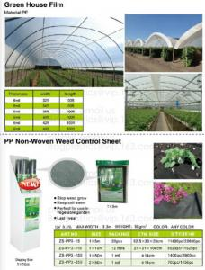 China Green house film, pp non-woven weed control sheet,mulch film w/pull-off hole,plant protect sleeve film w/hole, micro hol on sale
