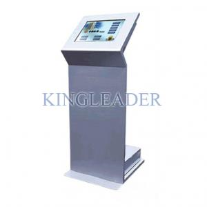 China Super Slim Touch Screen Information Kiosk Free Standing For Self-service Bill Payment on sale