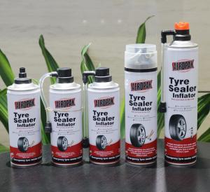 China Tubeless 450ml Car Tire Sealant Inflator Auto Emergency Tool Kit on sale