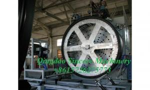 Quality Structured hollow wall civil drainage pipes production machinery from PE HDPE for sale