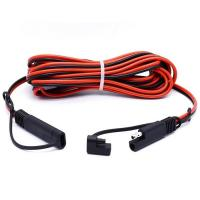 China 2 Pin SAE Connector Quick Disconnect Trailer Wire Harness Male to Female Cable Assembly Manufacturer on sale