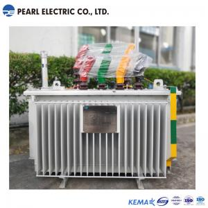China Amorphous Alloy Oil Immersed Transformer 200 Kva 10 Kv IEC60076 Standard on sale