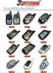 Contrôleur à distance d'alarme de voiture de l'électronique d'accessoires automatiques pour le système d'alarme de voiture de 2 manières