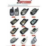 2つの方法車の警報システムのための自動車の付属品の電子工学車警報遠隔コントローラー