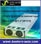 Módulo 48VDC/2000W del rectificador de Eltek Valerio Flatpack2