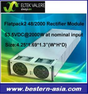 China Eltek Valere Flatpack2 Rectifier Module 48VDC/2000W on sale