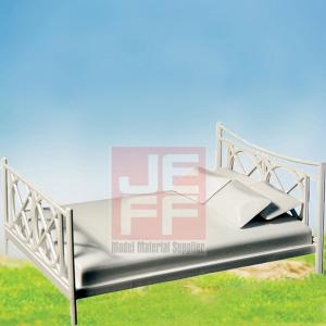 China Scale Model Furniture,layout mini fruniture ABS model bed PB01 on sale