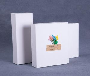 Quality Folding Kraft Paper Gift Box Small Cardboard Boxes With Lids For Gifts for sale