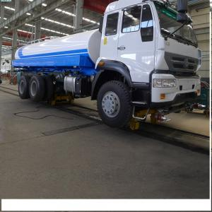 China Sinotruk Howo 290hp Water Tanker Trucks / Howo 6x4 Water Container Truck on sale