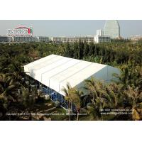 China 25x30m Aluminum Frame White PVC Party Tent For 600 People SGS TUV CFM IFAI on sale