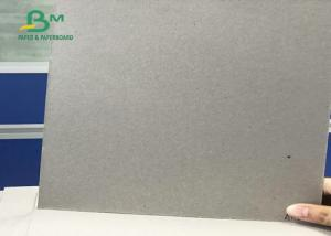 China Uncoated Double Sided Corrugated Medium Paper Recycled Pulp Laminated Grey Board For Packing box on sale