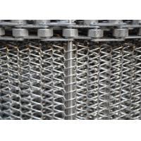 China High Strength Wire Mesh Conveyor Belt , Flat Flex Spiral Conveyor Belt on sale
