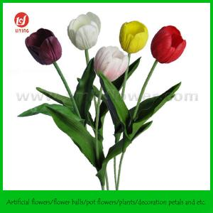 "Quality 17"" Table Wedding Decoration Artificial Flowers for sale"