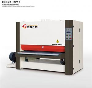 China BSGR-RP17 1700 mm Width Plywood MDF Particle Board Two Heads Wide Belt Sander on sale