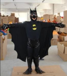 Quality Popular Bat man Mascot Costume for sale