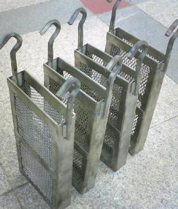 China Titanium basket or titanium anode baskets on sale