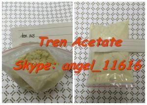 China Safe Bodybuilding Yellow Tren Acetate Trenbolone Powder Tren Ace CAS 10161-34-9 on sale