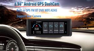 China Android 5.0 In Dash Navigation System 6.86 Inches1280 × RGB × 480 Screen Resolution on sale