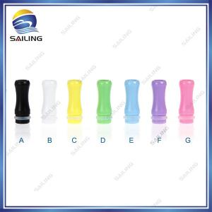 China Sailing 510 Plastic drip tips with solid color on sale