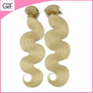 China Newest Hair Style 613# Human Hair Free Brazilian Weave Bundles Body Wave Blonde Human Hair on sale