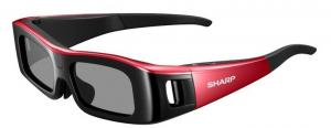 China STN Lens Red / Black Xpand Active Shutter 3D TV Glasses Transmittance For Cinema on sale
