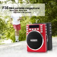 Mini FM radio amplifier speaker with voice amplifier and voice recorder