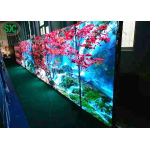 China P2.5 Indoor  SMD  1r1g1g RGB led display die cast aluminum cabinet, rental usage on sale
