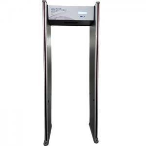 China ABNM AB600B 6 zones WTMD DFMD arched doorframe walkthorugh metal detector gate on sale