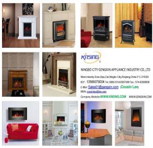 China Electric Fireplace Heater Catalogue(Brochure) on sale