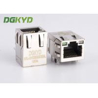 China Gigabit 10 Pin RJ45 Ethernet Modular Jack female with LED for network card on sale