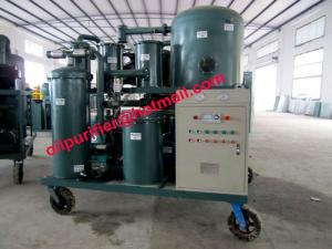China Vacuum Cleaner for lube oil, vacuum oil cleaning system for gear oil filtering,  Lubricant Oil Purification Unit on sale
