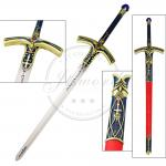"""45.7"""" Sword In The Stone Fate Stay Night Saber Caliburn Sword"""