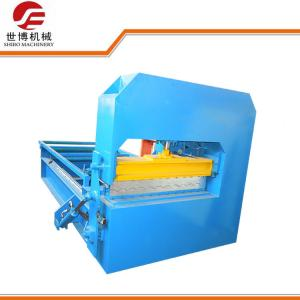 China Roof Panel Sheet Metal Bending Machine Hydraulic Control For Trapezoidal Sheet on sale