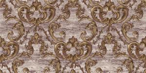 China Room Decoration Deep Embossed Wallpaper Washable European Style Wall Covering on sale