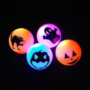 China Custom Assorted Colours Blue, Red Flashing Bouncing Ball for Promotion Gifts SR-00107 on sale